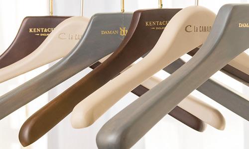 custom wood hangers