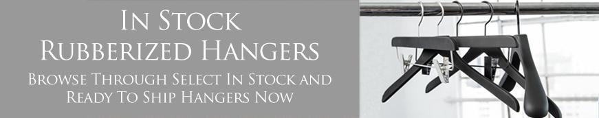 In Stock Rubberized Hangers