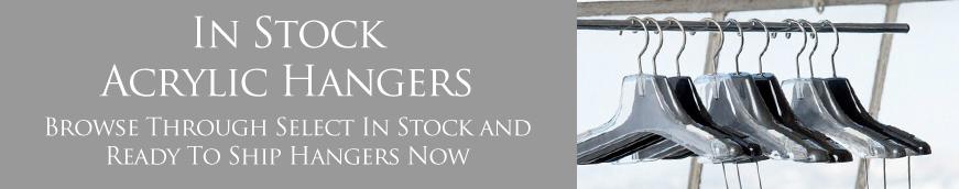 In Stock Acrylic Hangers