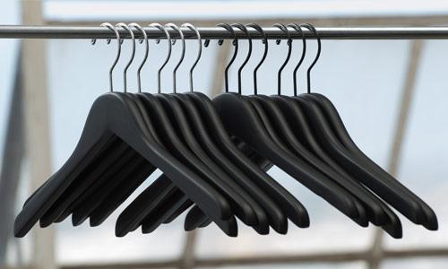 In Stock Wood Hangers
